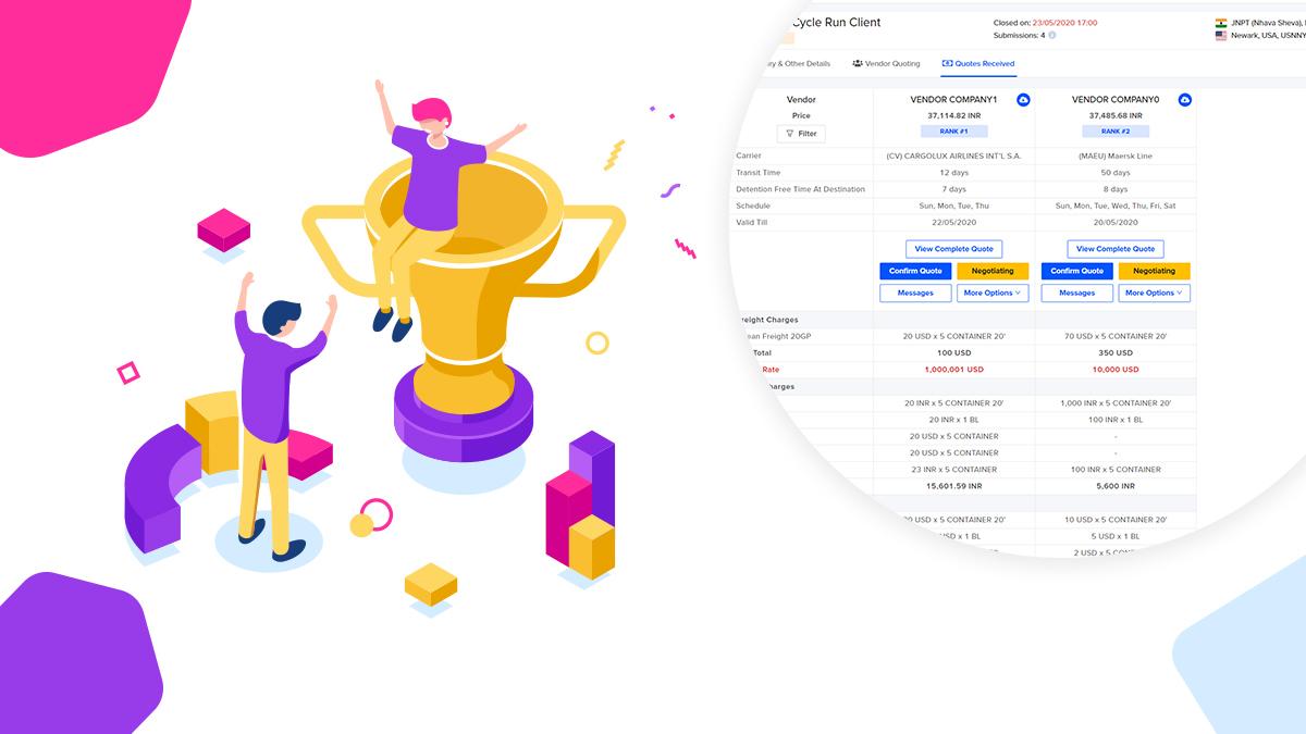 Win Spot market with GoComet's RFQ software