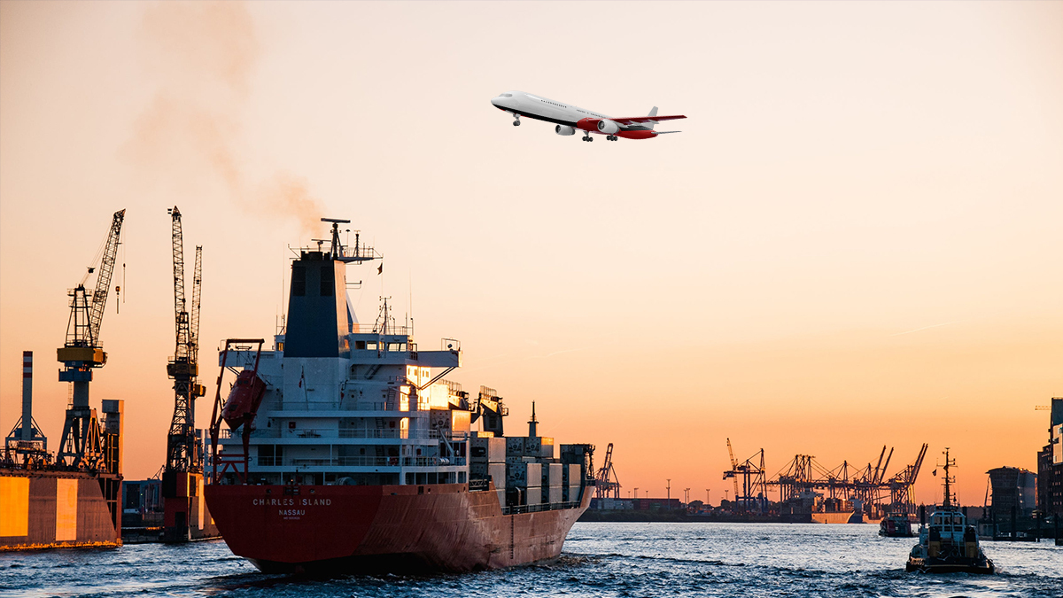 Air Freight vs Ocean Freight