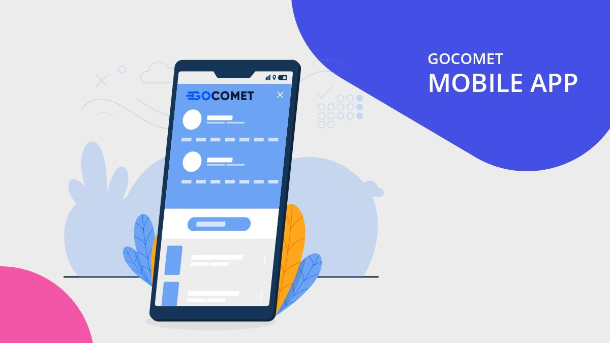 Gocomet mobile app
