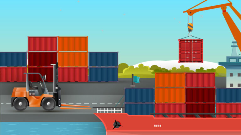 Container shipping stages rebound after COVID-slowdown