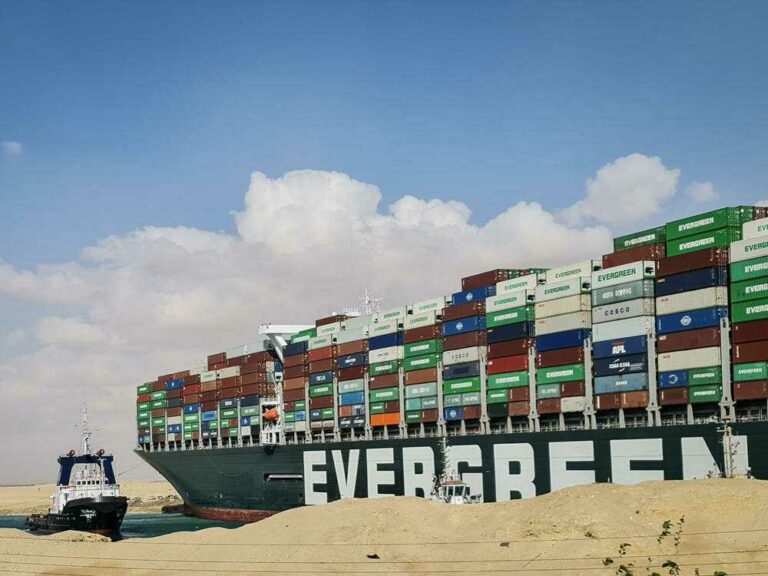 The Suez Canal is free, but cargo delays are just getting started