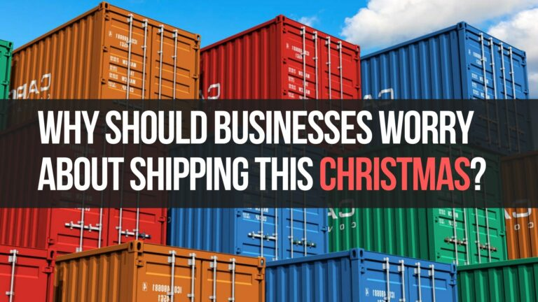 Why Should You Worry About Shipping This Christmas?